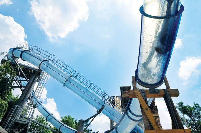 جذاب ترین سرسره های آبی در دنیا