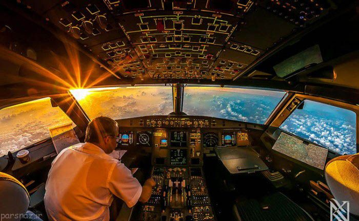 ناگفته های جالب خلبانان که باید بدانید