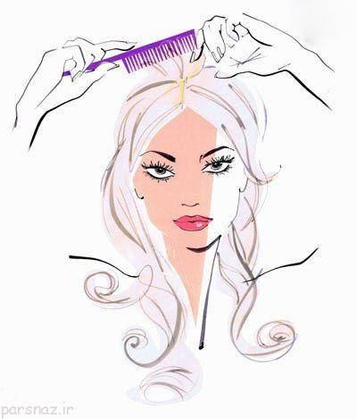 روش های ساده برای داشتن موهای زیبا