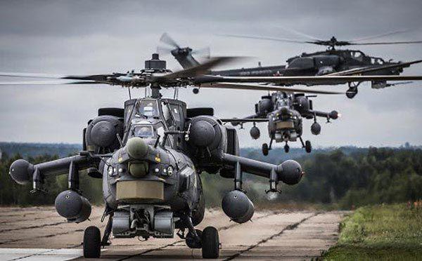 بهترین بالگردهای جنگی مدرن دنیا را بشناسید