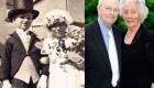 ازدواج یک زوج 4 ساله که 91 ساله شدند (عکس)