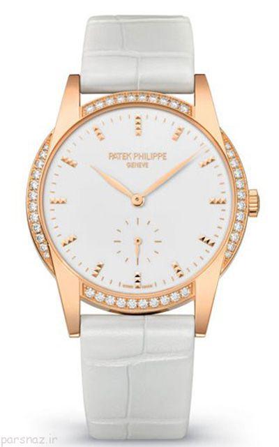 ساعت های با نگین الماس زنانه و زیبا پسند