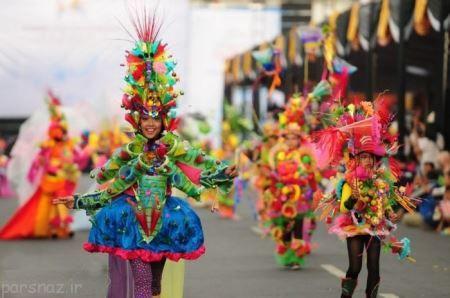 عکس های دیدنی از برگزاری فستیوال رقص دختران و زنان زیبا