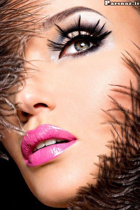 جدیدترین مدل آرایش چشم ابرو به سبک خانم های هالیوودی