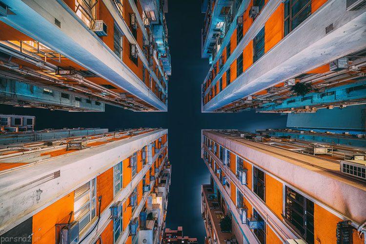 عکس+آسمان+خراش+هنگ+کنگ