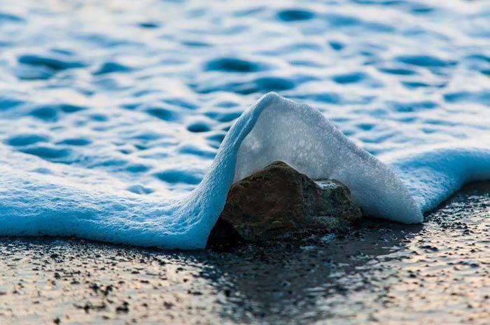تصاویری جذاب و خیره کننده از امواج دریا