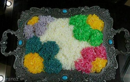 مدل تزیین برنج (13 عکس)