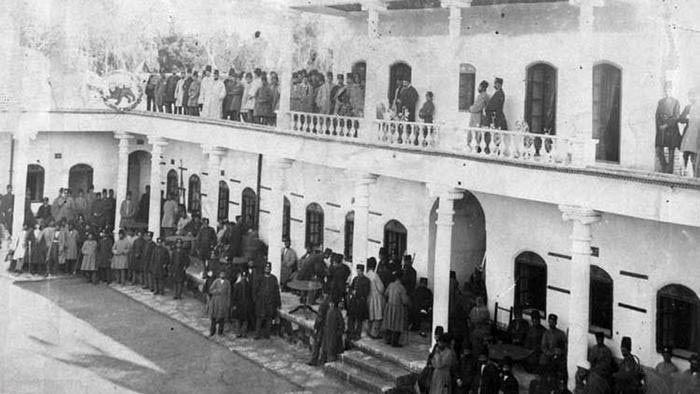 مجموعه تصاویر قشون نظامی در زمان قاجار