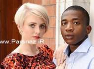 مشکلات عاشقی برای این دختر زیبا و نامزد سیاه پوستش