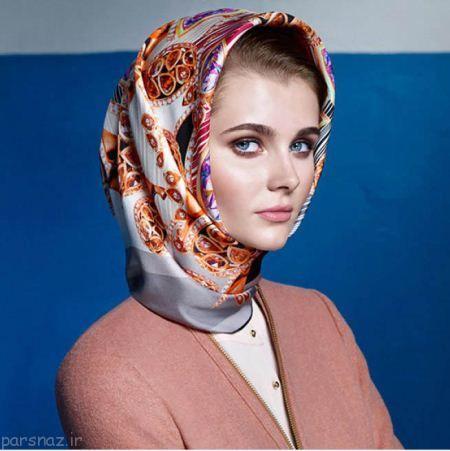 خاص ترین مدل های روسری زیبا و جذاب