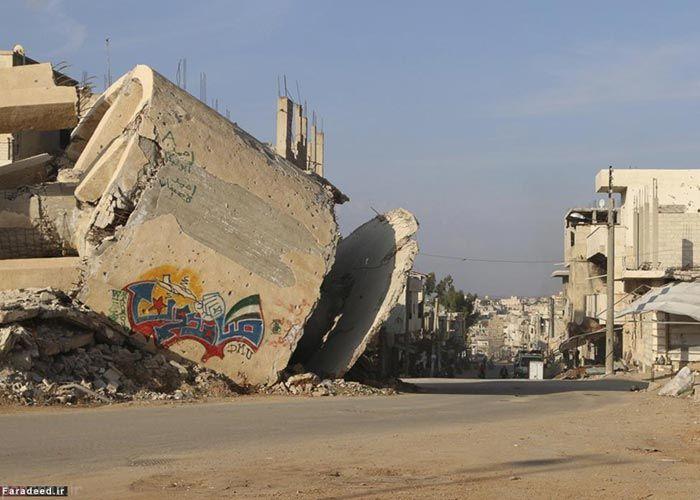 چهره ی ویران سوریه پس از پنج سال جنگ داخلی