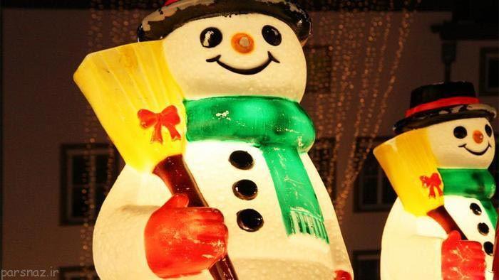تصاویری زیبا از روز جهانی آدم برفی