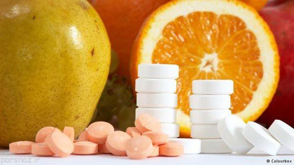 خاصیت های حیاتی ویتامین ها برای بدن انسان