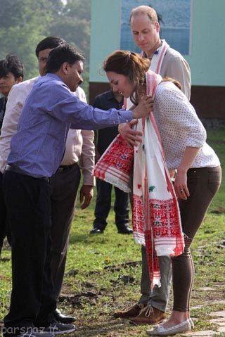 تصاویری از سفر کیت میدلتون به کشور هند