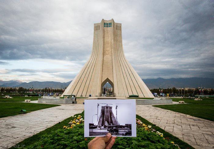 روایت طهران قدیم و تهران جدید به زبان تصویر