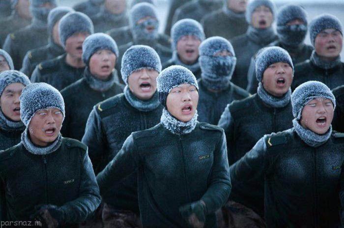 عکس هایی از سخت ترین تمرین های نظامی جهان