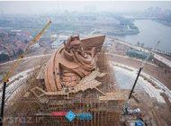 چین بزرگترین مجسمه دنیا را رونمایی کرد