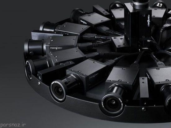 فیلم برداری 360 درجه با سیستم پیشرفته فیسبوک