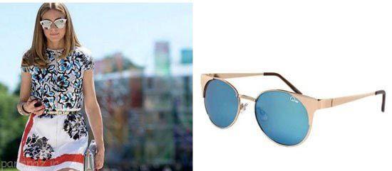 عینک های آفتابی بازیگران و خوانندگان چگونه است؟