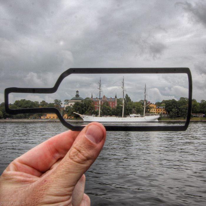 عکس های دیدنی یک جهانگرد با مکان های دیدنی