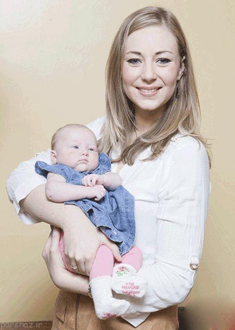 وضع حمل یک زن بدون اطلاع از باردار بودن + عکس