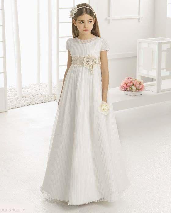 زیباترین و جدیدترین مدل های لباس عروس بچگانه