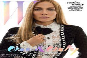 تصاویر جذاب و جدید جنیفر لوپز در مجله W