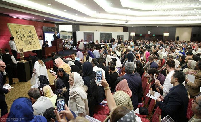 شگفتی حراج تهران با فروش 25 میلیارد تومانی