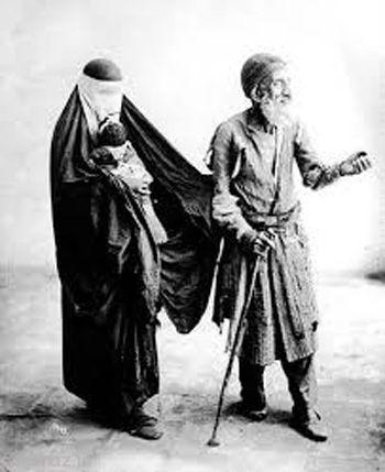 در کشور ایران باستان گدایی ممنوع بود