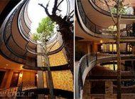 تصاویری از طراحی های معماری طبیعت دوست