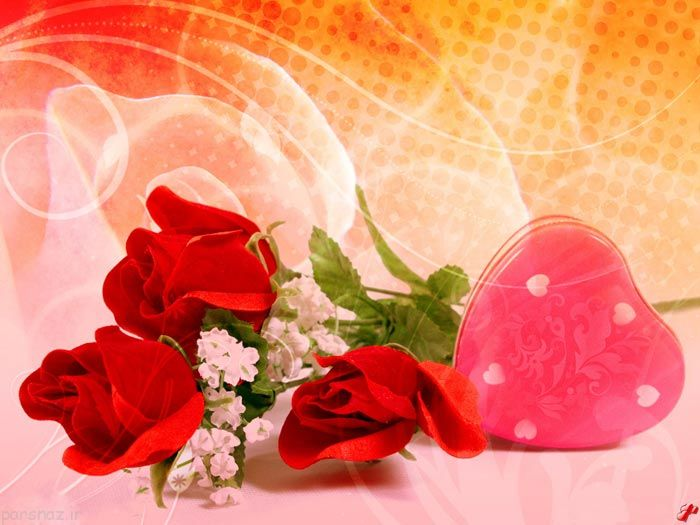 عکس رمانتیک گل