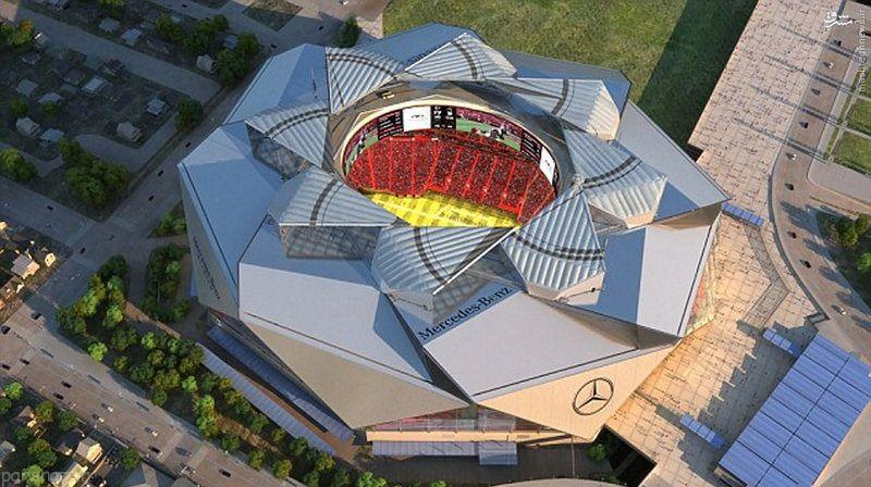 عکس زیباترین استادیوم دنیا