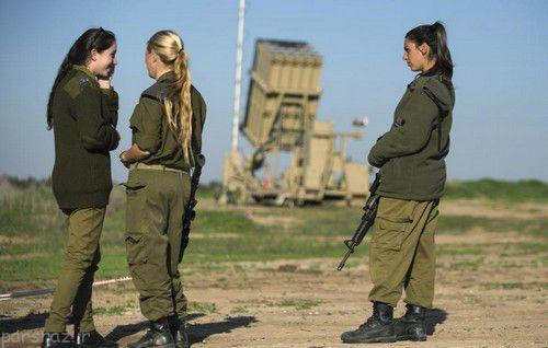 عکس های خدمت سخت سربازی دختران اسرائیلی