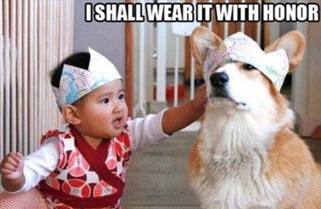 عکس های خنده دار و شیرین از کودکان ناز و بامزه