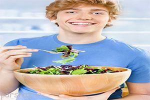 بررسی کیفیت تغذیه نوجوانان در دوران بلوغ