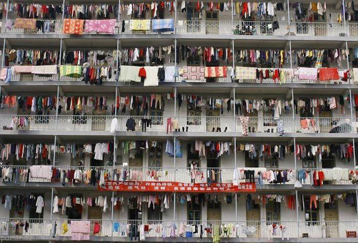 تصاویری از شلوغ ترین و پرجمعیت ترین کشور دنیا چین