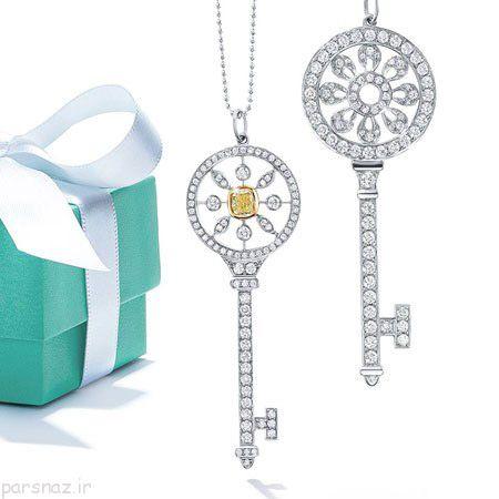 بهترین انواع جواهرات با برند مطرح Tiffany & Co