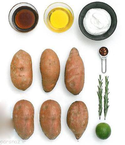آموزش طرز پخت سیب زمینی سرخ شده سالم