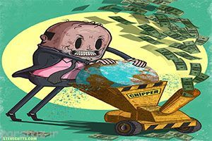 حقایقی دردناک از دنیای مدرن امروزی به زبان کاریکاتور