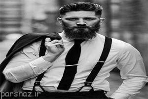 تصاویری از مدل های مو و ریش مردانه جدید