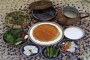 هنر زیبای تزیین غذا در دست کدبانو ایرانی