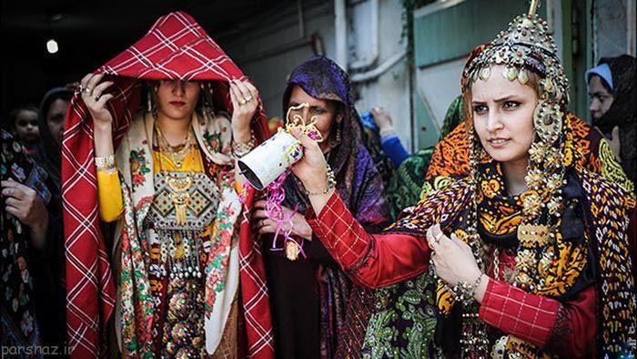 تصاویری از عروسی های سنتی در تمام ایران