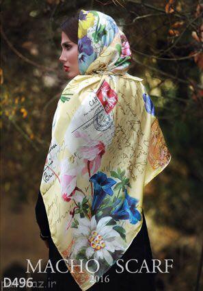 مدل های جذاب از روسری های دخترانه و زنانه