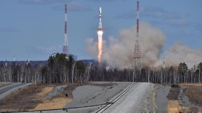 افتتاح نخستین پایگاه فضایی روسیه در حضور پوتین