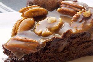 یک روز شیرین با کیک شکلات و کارامل