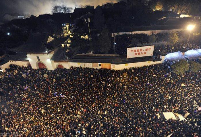تصاویری از شلوغ ترین و پرجمعیت ترین کشور دنیا