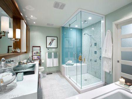 تصاویری شیک از دکوراسیون های حمام جدید