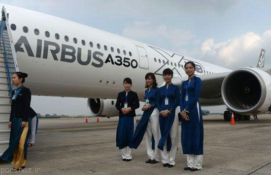 عکس های مهمانداران زن زیبا در هواپیماهای دنیا