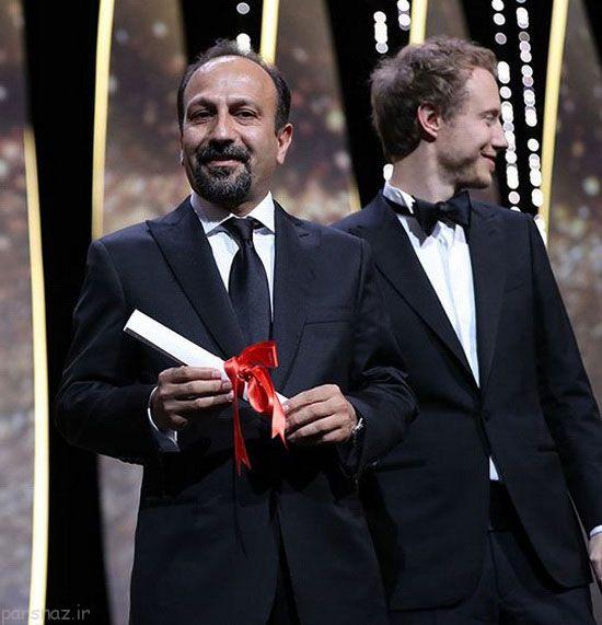 شهاب حسینی و اصغر فرهادی در کن 2016 درخشیدند