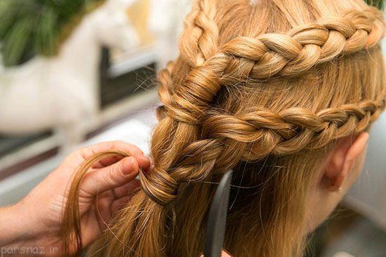 مدل بافت مو به روش سریال بازی تاج و تخت